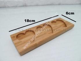 - sd14571 bambu üç bölmeli sosluk