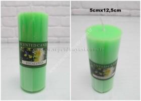 - sd21334 yeşil kokulu 12,5 cm mum (EUCALYPTUS)