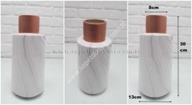 - sd22506 mermer desenli seramik vazo