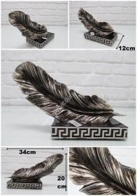 - sd26433 dekoratif polyester yatay tüy obje