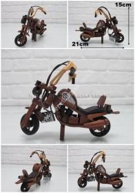 - sd26709 ahşap motorsiklet no0