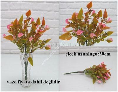 sd26957 plastik yapay çiçek demeti