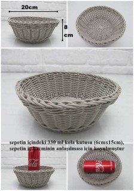 - sd29737 yuvarlak plastik sepet