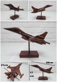 - sd29914 dekoratif ahşap F16 jet uçağı
