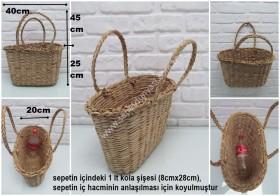 - sd31189 naturel hasır çanta