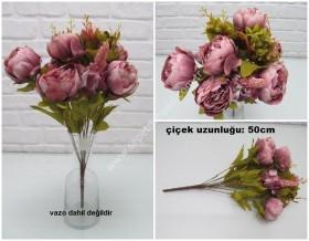 - sd32090 yapay şakayık çiçeği demeti