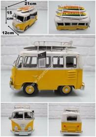 - sd33462 dekoratif metal el işçiliği nostalji Volkswagen