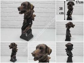 - sd34478 dekoratif köpek büst