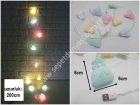 - sd34815 çanta figürlü dekoratif usb girişli sıralı led aydınlatma