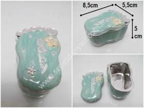- sd34827 dekoratif ayak kapaklı şirin kutu (takı vs...)