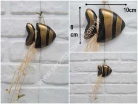 - sd35245 seramik balık duvar süsü