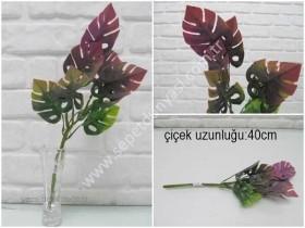 - sd35370 yapay plastik çiçek yaprağı
