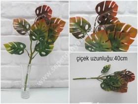 - sd35371 yapay plastik çiçek yaprağı