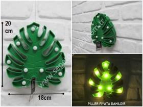 - sd35610 dekoratif yaprak aydınlatma
