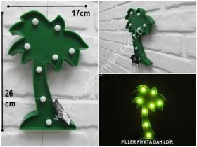- sd35612 dekoratif palmiye aydınlatma