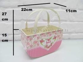 - sd9966 dekoratif metal desenli çanta no:3